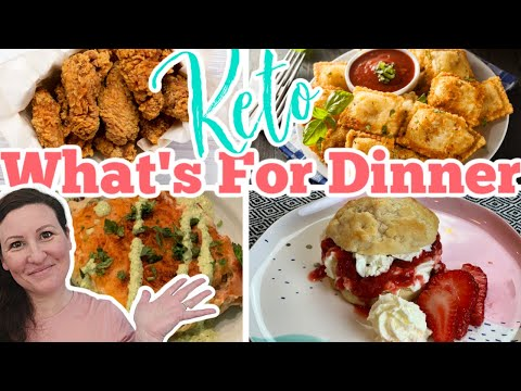What's For Dinner this Week Keto Comfort Food Meals