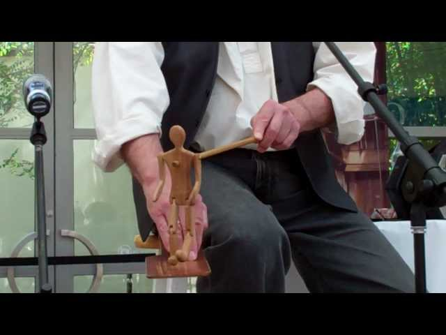 Jeff Warner's Limberjack (Jig Doll) dancing to Buffalo Gals