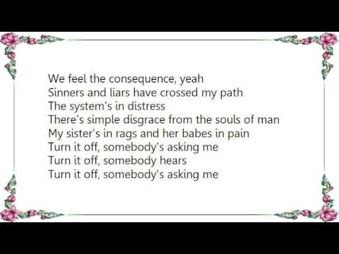 Boston - Turn It Off Lyrics