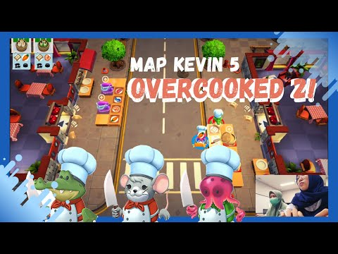 TRIAL ARCADE OVERCOOKED 2 - KEVIN 5 | STEAM GAME IN LAB (PART 1) |