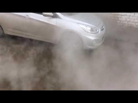 Затопленные улицы на