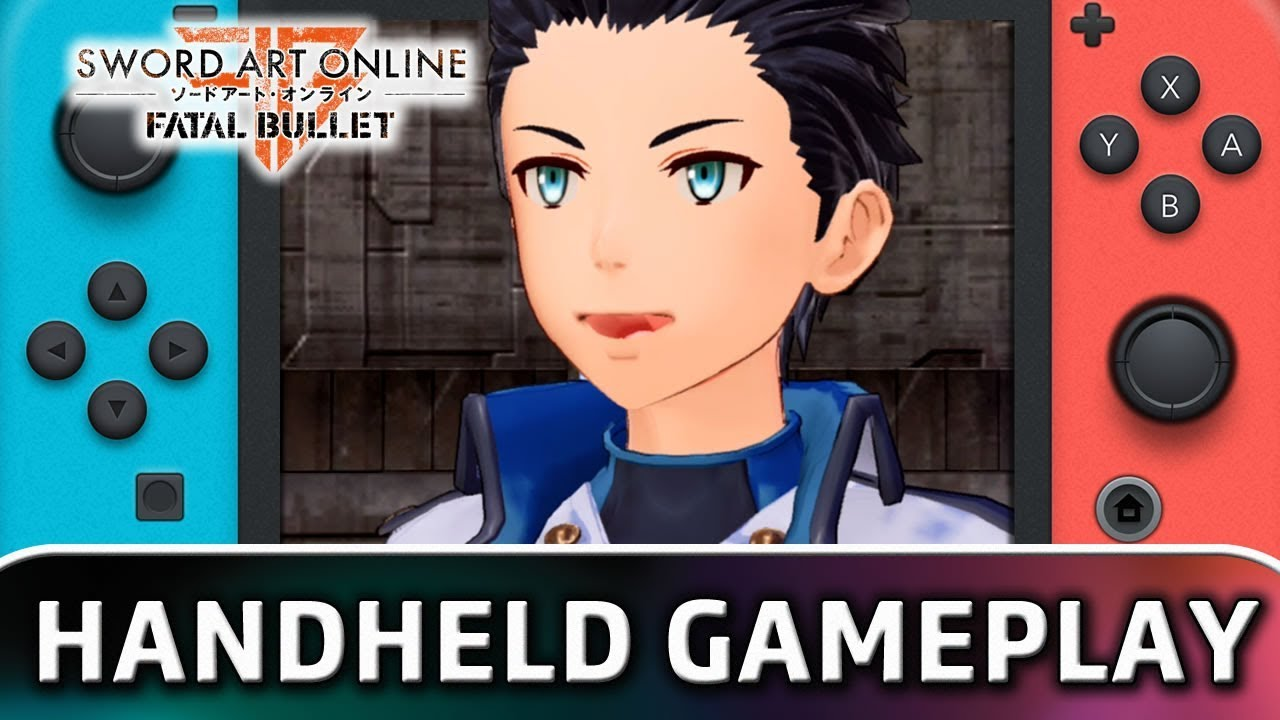 SWORD ART ONLINE: FATAL BULLET | 10 Minutes in Handheld MODE on Switch