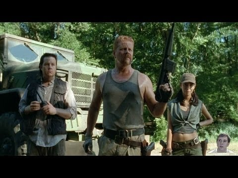 The Walking Dead Season 4 Abraham Eugene And Rosita Appear