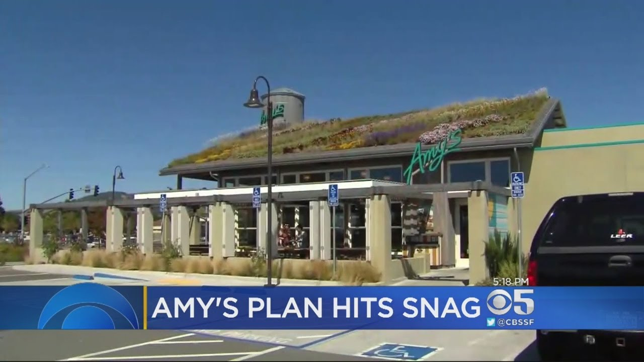 Amy\'s Kitchen Hits A Snag Trying To Open Drive-Thru Restaurant - YouTube