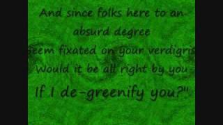 The Wizard and I Wicked lyrics