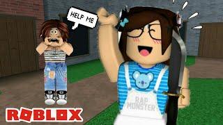 ROBLOX-MURDER WANTS TO KILL ME!!!! MURDER MISTERY 2