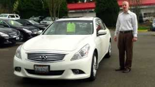 2010 Infiniti G37X AWD review- In 3 minutes you'll be an expert on the 2010 G37X