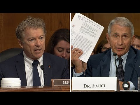 Dr. Fauci  blasts Sen. Paul: 'You don't know what you're talking about'   COVID-19 in U.S.