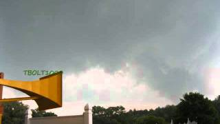 Tornado near Springfield MA Sirens, EAS, and the tornado
