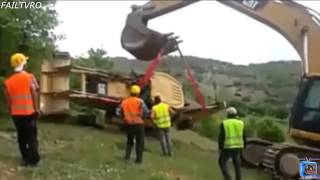 Construction Fail Compilation 2015!! Crane accidents caught on tape compilation!! Excavato