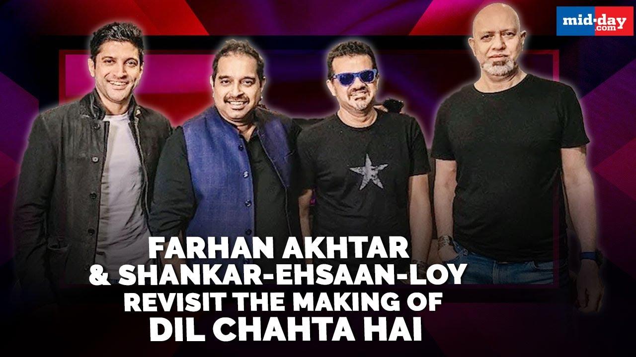 Download Farhan Akhtar and Shankar-Ehsaan-Loy revisit the making of Dil Chahta Hai