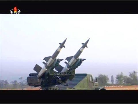 KCTV - North Korea Upgraded SA-2 & SA-3 Anti-Aircraft Missiles Live Firing Tests [480p]