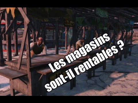 les magasins sont ils rentables utiles fallout 4 youtube. Black Bedroom Furniture Sets. Home Design Ideas