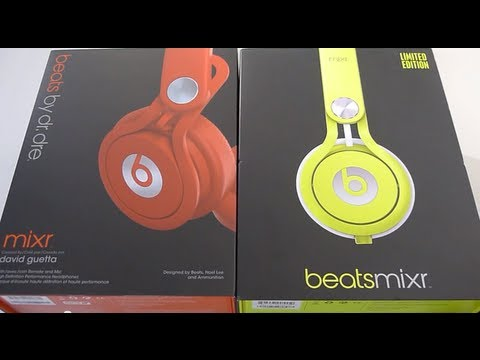 First Look: 2013 Beats MIXR Neon Yellow unboxing