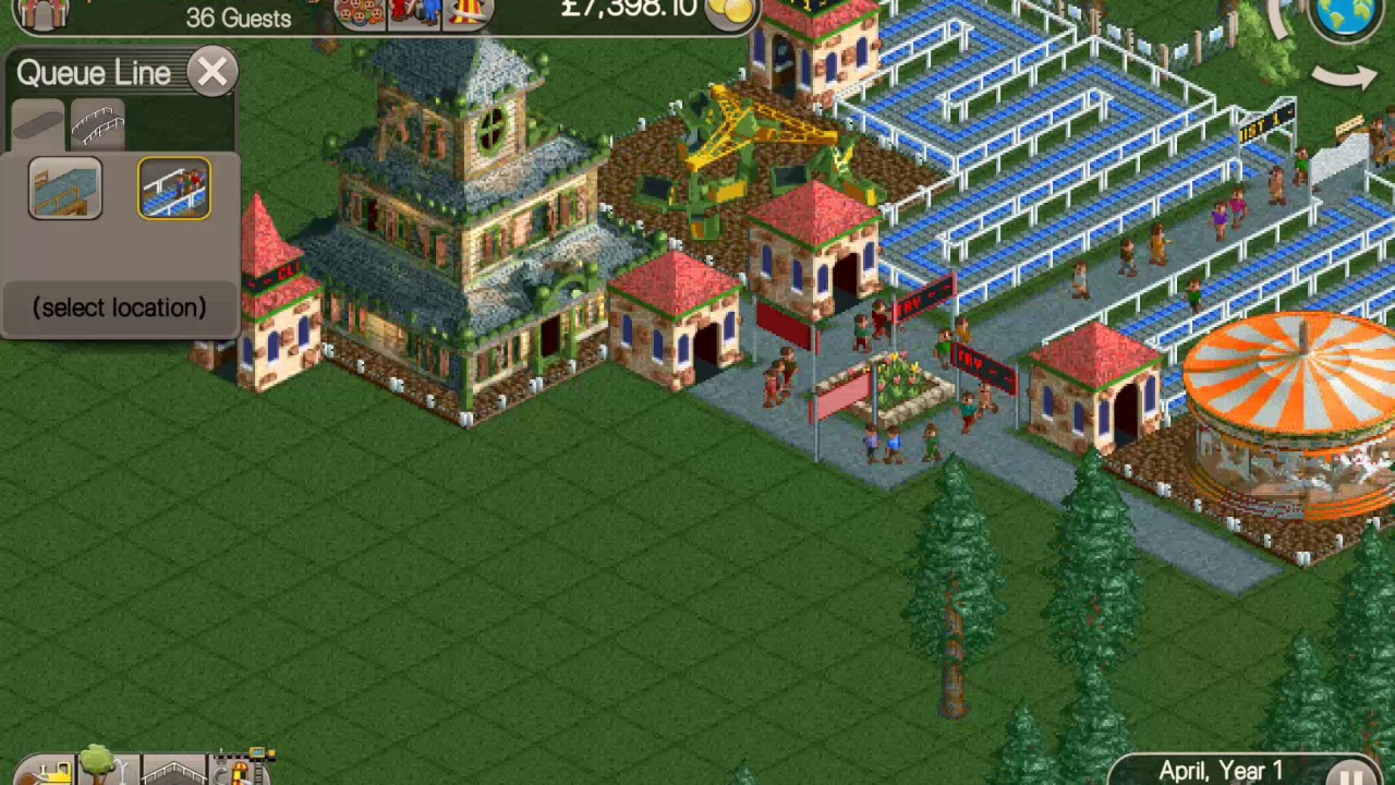 Rollercoaster tycoon classic apk cheats | RollerCoaster Tycoon
