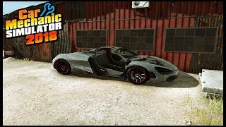 Car Mechanic Simulator 2018 - ABANDON MCLAREN 720S JUNKYARD FIND