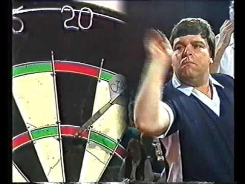 Darts World Pairs 1987 Semi Final Anderson & Wilson vs Lowe & Payne (Part 1)