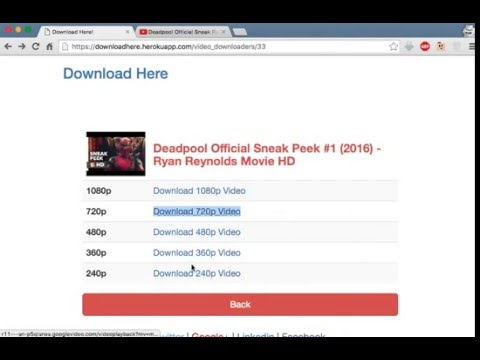 Download Youtube High Quality Video