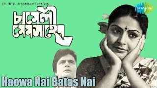 Haowa Nai Batas Nai | Chameli Mem Saheb | Bengali Movie Song | Usha Mangeshkar