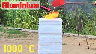 Molten Aluminium VS 50 Thermocol Sheets | Blade XYZ |