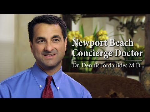 Newport Beach Concierge Doctor - Dr. Dennis Jordanides M.D.