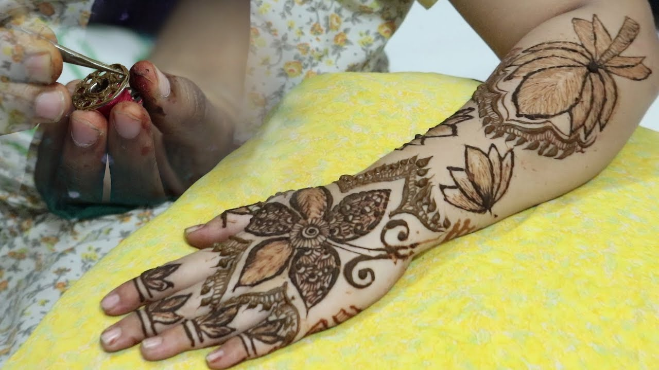 Gazab Mehndi Using Silai Machine Clipart Step By Step Easy