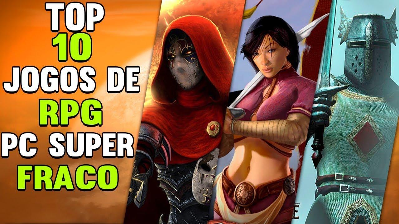 FLASHPOINT GAMES - (TOP) Melhores Jogos de RPG para PC super fraco 2019 ⚔ ( Jogos leves para pc frac