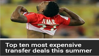 ASMR FOOTBALL-TOP 10 MOST EXPENSIVE TRANSFERS THIS SUMMER AND WORLD CUP RAMBLE