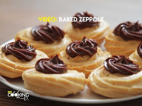Baked Zeppole Recipe