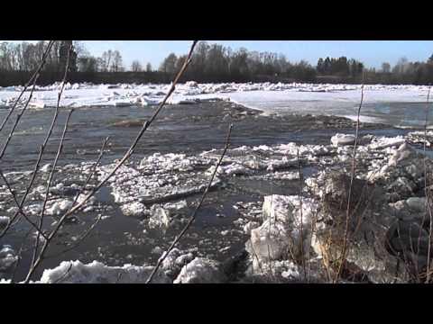Jääminek Pärnu jõel 17.04.2013