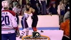 May 14, 1987 Philadelphia Flyers vs Montreal Canadiens PREGAME BRAWL