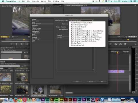 Adobe Premiere Pro Tutorial | Audio Output Settings | Headphones & Speakers