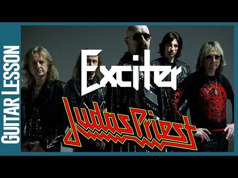 Exciter By Judas Priest  -  Guitar Lesson