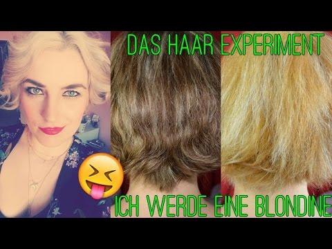 haare selber f rben von braun auf blond mit drogerie produkten live test thecameronxoxo. Black Bedroom Furniture Sets. Home Design Ideas