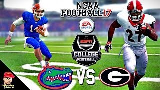 NCAA Football 17 | #14 Florida vs Georgia Showdown! | College Football Kick-Off Gameplay!