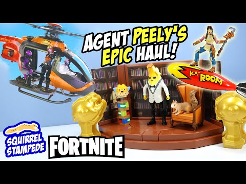 Fortnite Agent Peely Choppa & Action Figures Jazwares 2021