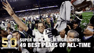 49 Best Super Bowl Plays of All Time! | NFL