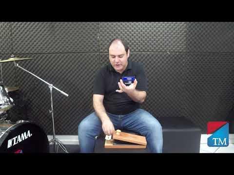 Harmônica Gaita de Boca Andaluz Azul em Do  - Território da Música