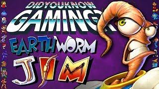 Earthworm Jim - Did You Know Gaming? Feat. TheCartoonGamer
