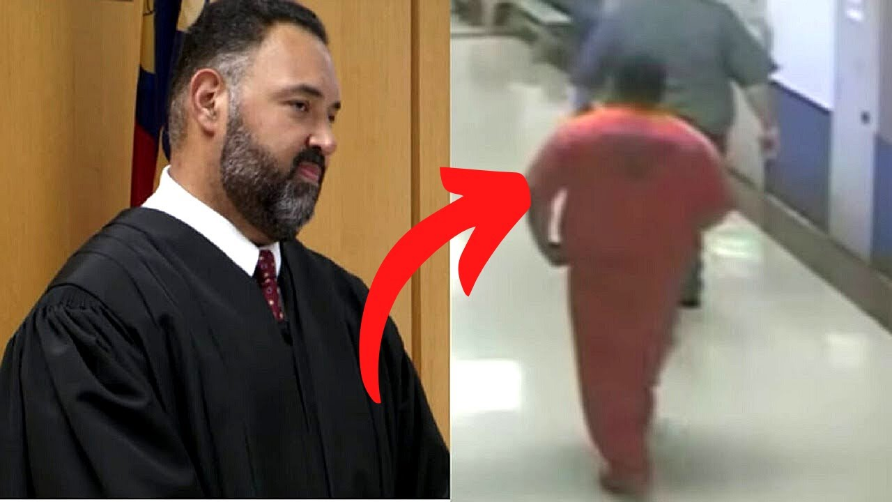 When Green Beret Is Sentenced To Jail, Security Camera Catches Judge Going Into Cell