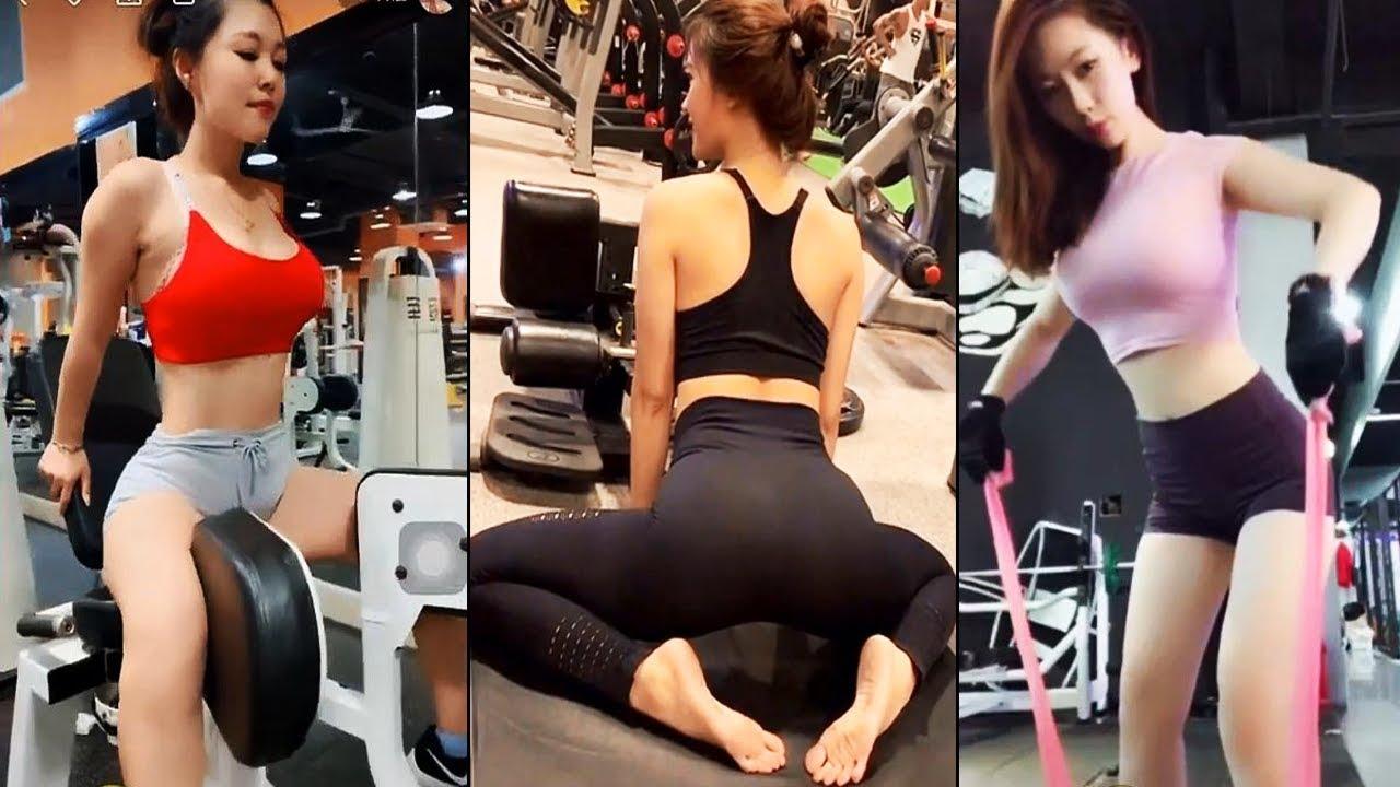 Gái Xinh Tập Gym Hot Nhất Cộng Đồng Mạng | Tik Tok Gym
