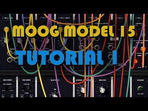 Let's Learn Moog Model 15 iPad App #1 - Introduction