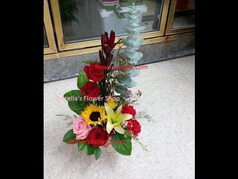 Como Hacer Arreglo Floral Paso A Paso Y Con Opciones