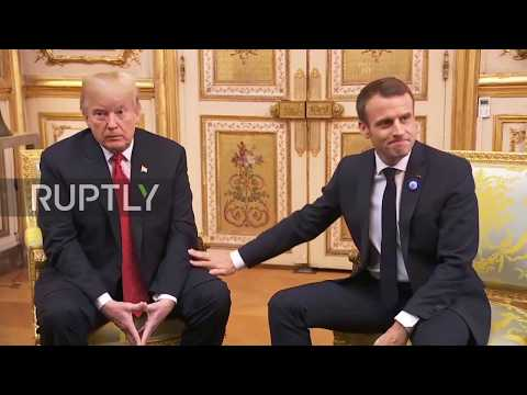 Chris Michaels - LOL, trump's face with the unwanted touching!