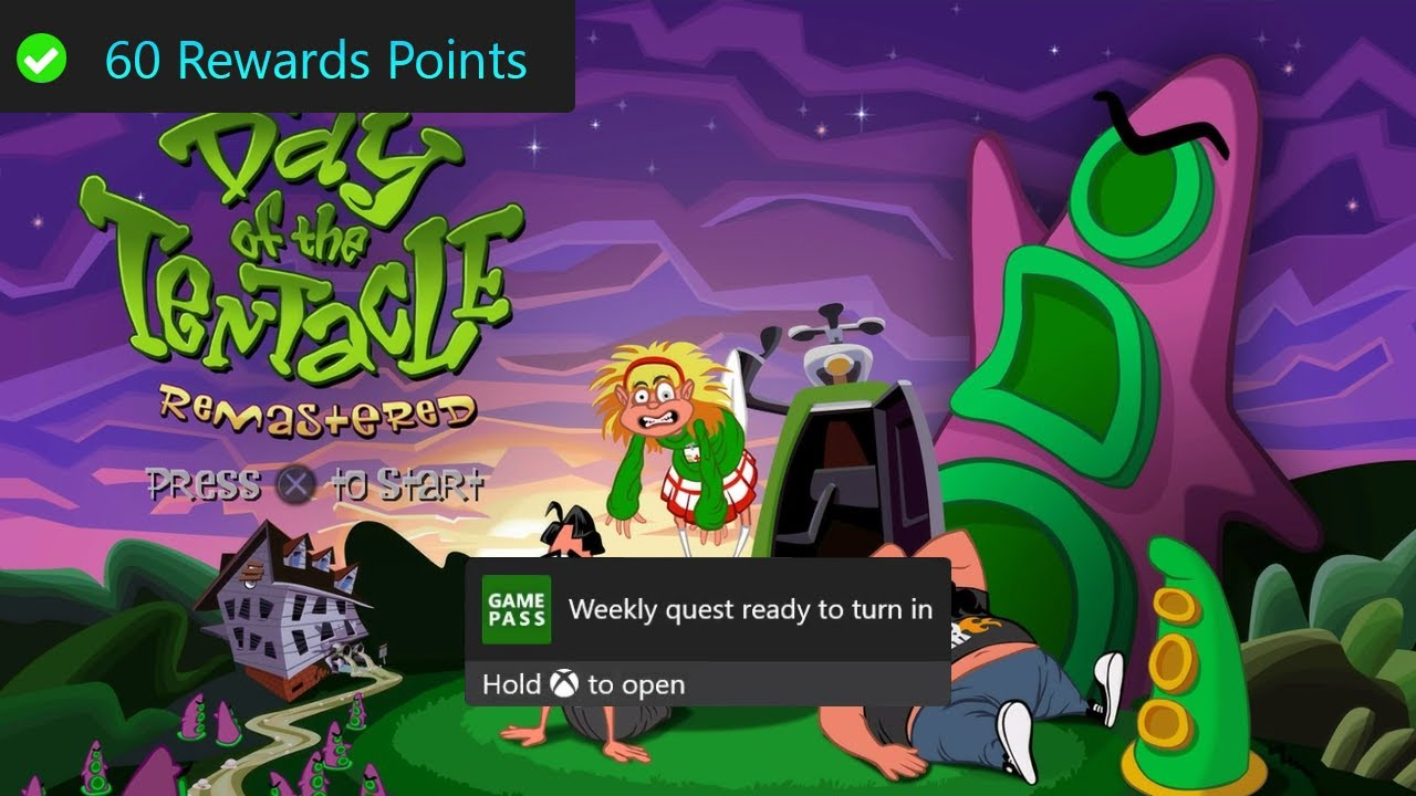 Weekly Xbox Game Pass Quest Guide - Earn an Achievement, Day of the Tentacle Remastered Part 15