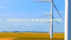 Comment une centrale éolienne transforme la force du vent en électricité - EDF