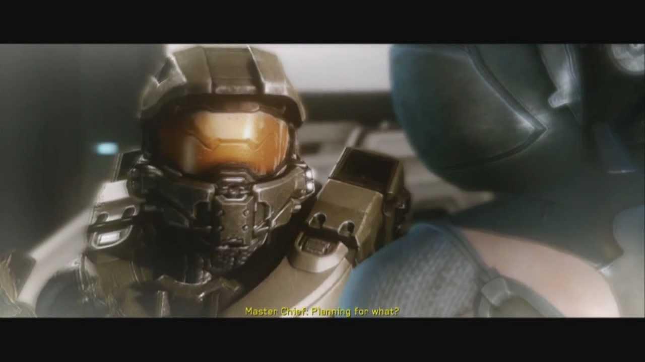 Halo 4 - Campaign Cutscene - The Librarian