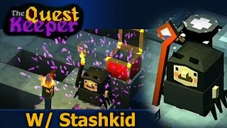 The Quest Keeper: Game Play Spider Suit (StashPlays)