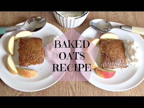 Slimming World Recipes Syn Free   Baked Oats