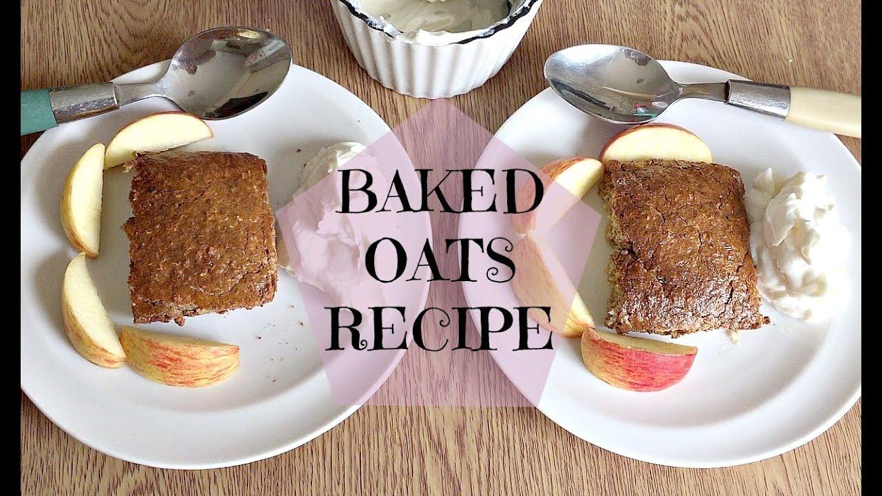 Slimming World Recipes Syn Free | Baked Oats | Doovi